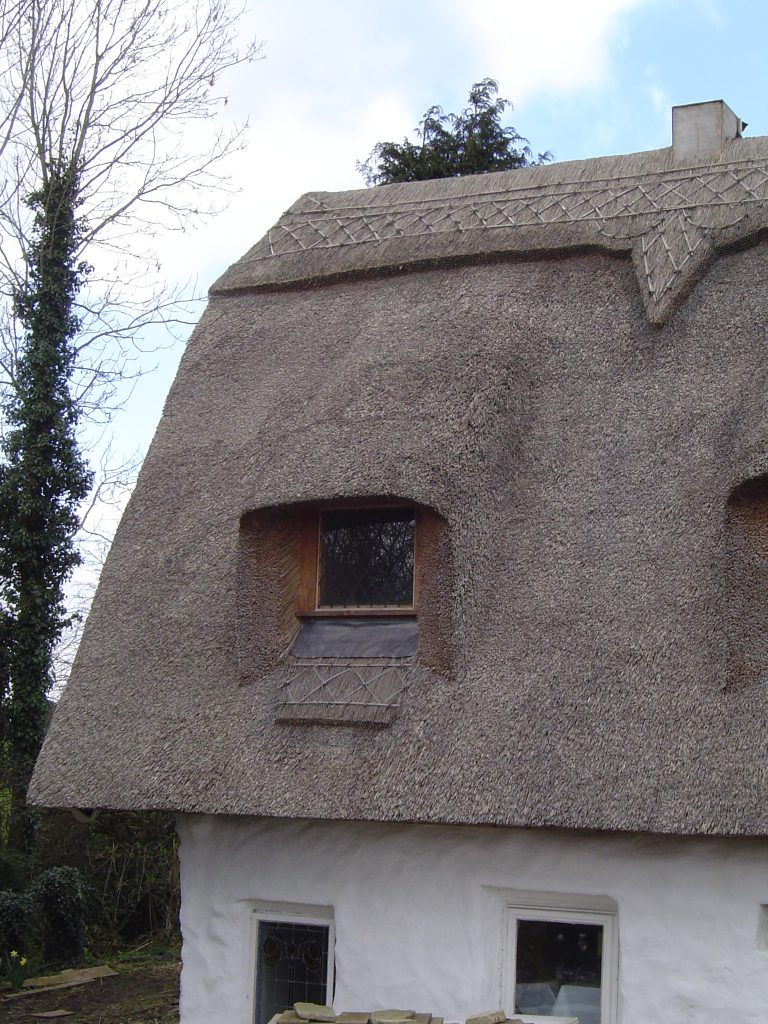 Thatched Cottage Windows