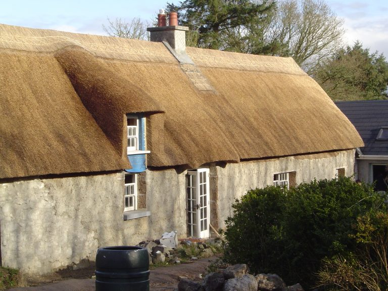 Windows for thatching