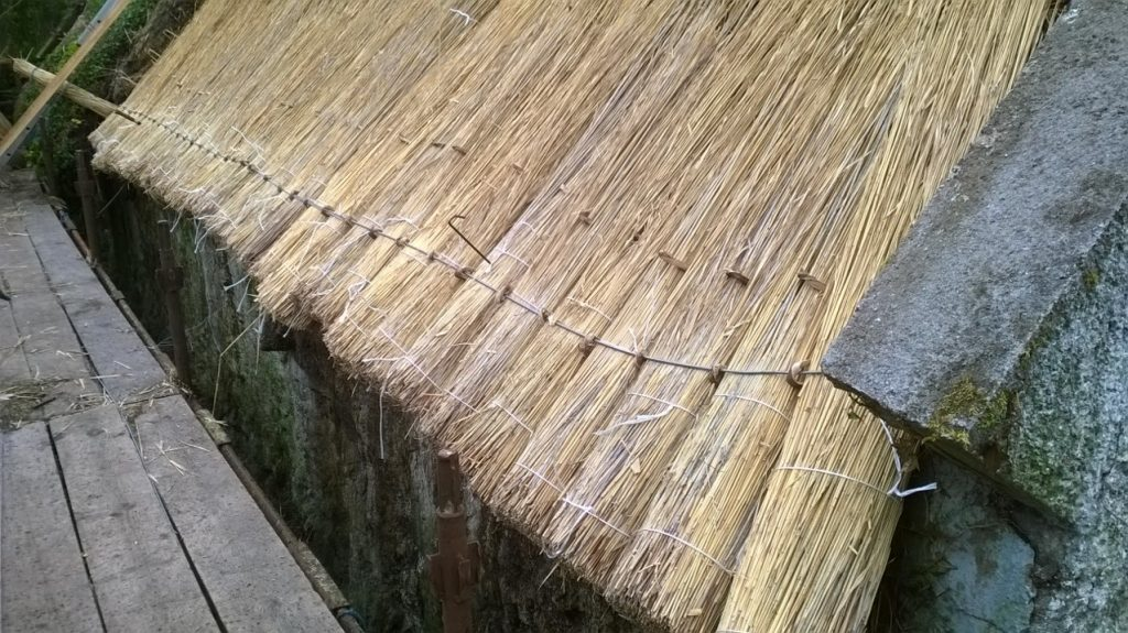 Roof thatching in Ireland